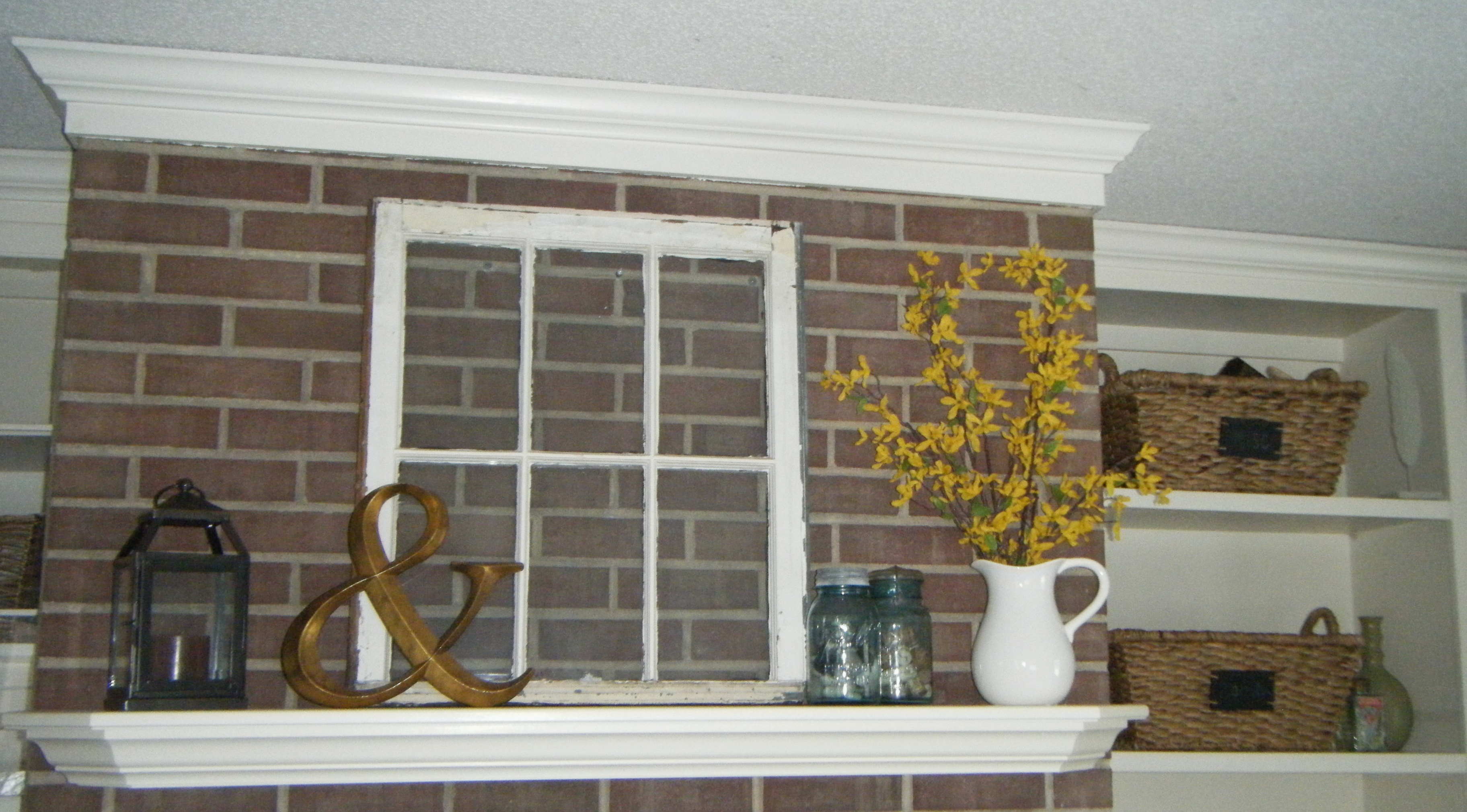 Mantel decor hobby lobby