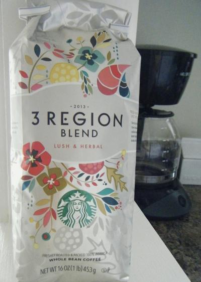3 region blend from starbucks