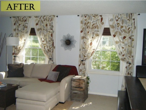 curtains after