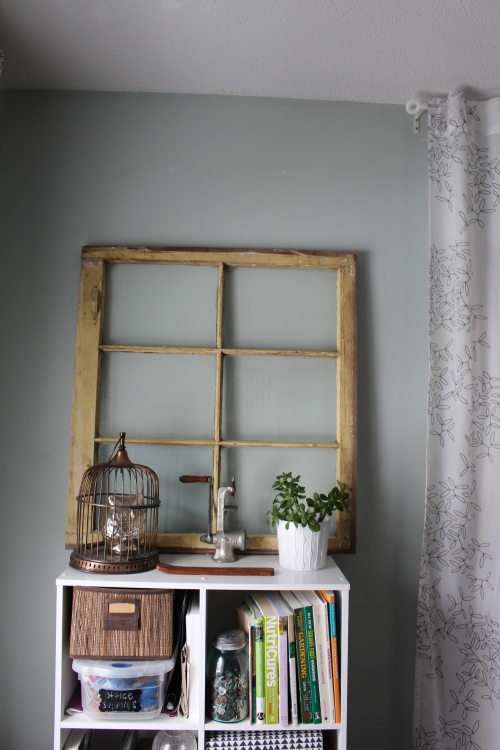 how to use old window panes