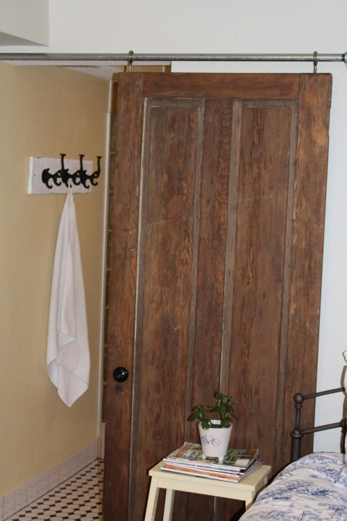 diy industrial sliding door