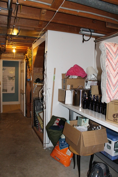 utility room, before