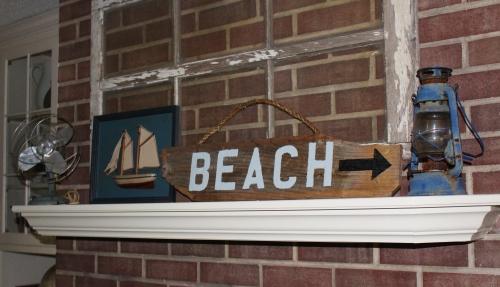 nautical mantel decor