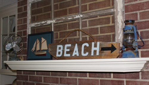 nautical mantel decor