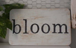 bloom wall art
