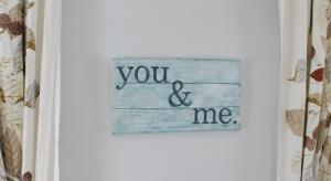 you & me wall art