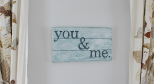 you & me wall art