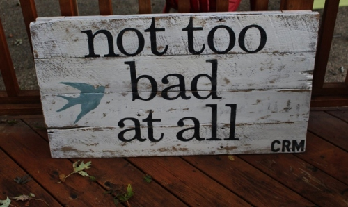 custom made sign