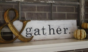 gather sign