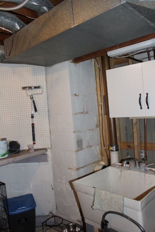utility room before