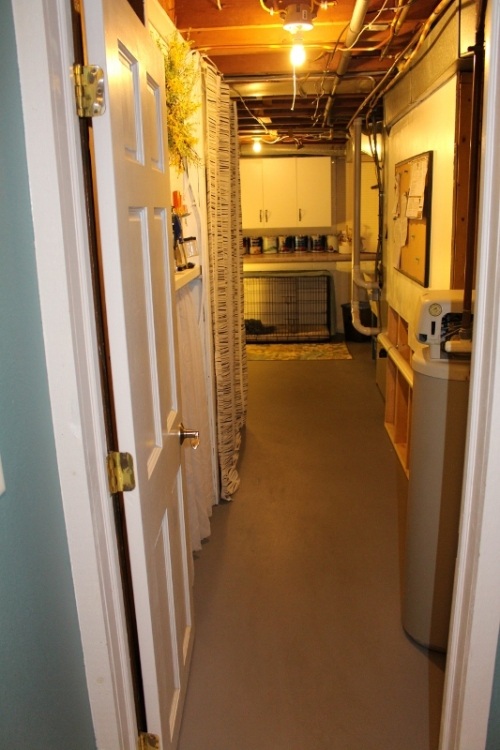 utility room makeover