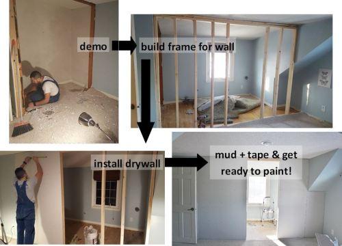 closet makeover steps