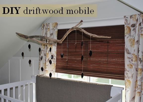 DIY Driftwood Mobile.